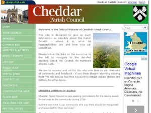 Spanglefish Parish Council web site