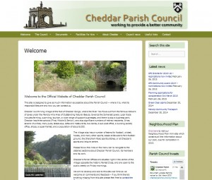 2015 version of Parish Council web site